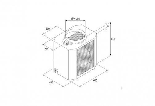 Zusatzabluftbox Stehbräuner Ergoline