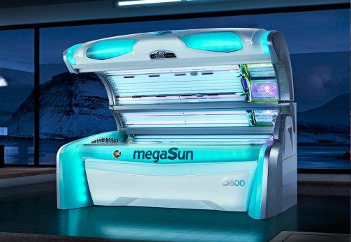 Solarium MegaSun 6800 alpha