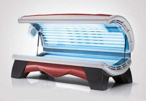 OPTISUN Solarium Relax 28/1 Red
