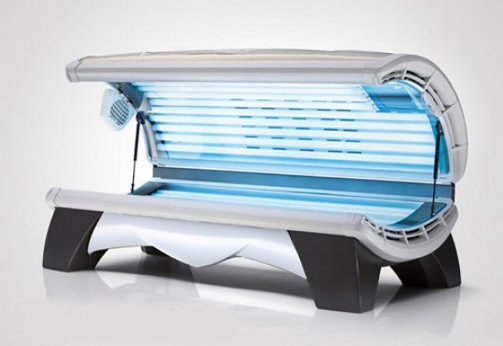 OPTISUN Solarium Relax 28/1 White