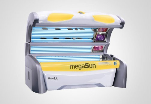 Solarium MegaSun 6700 alpha