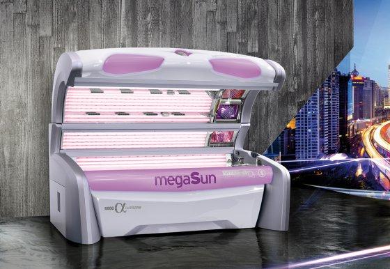 Solarium MegaSun 6800 alpha hurricane