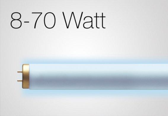 8 - 70 Watt