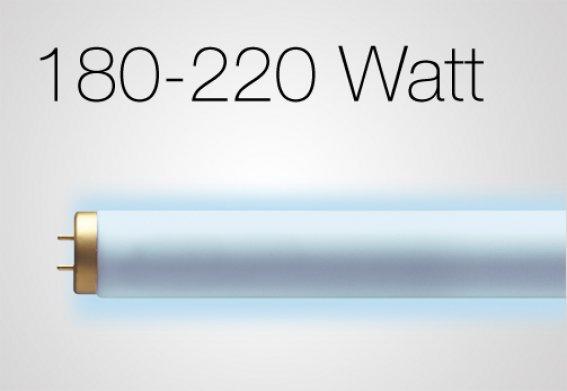 180 - 220 Watt